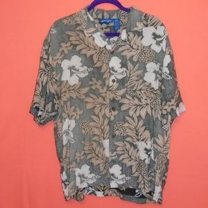 🌴OP Ocean Pacific Men's Large Hawaiian Shirt